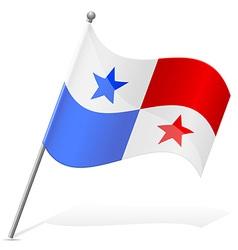 Flag of panama vector