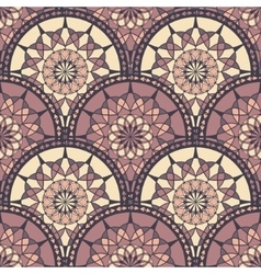 Seamless Pattern With Ethnic Ornament vector image