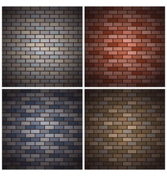 bricks walls vector image