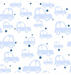 toy car pattern vector image vector image