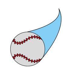 baseball icon image vector image