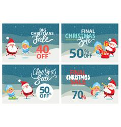 Big christmas sale clearance vector