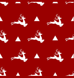 christmas icons seamless pattern vector image vector image