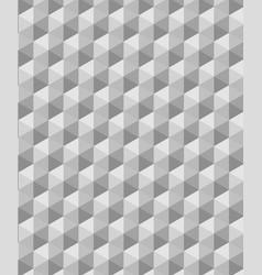 modern seamless grey geometry triangle pattern vector image