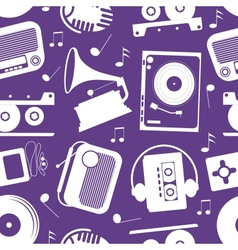 musical pattern vector image