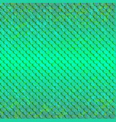 pattert-fish-green-light vector image