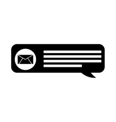 Speech bubble blog icon vector
