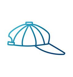 Sport hat cap vector