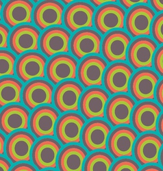 pattern japan wave style vector image