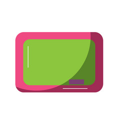 chalkboard school icon image vector image