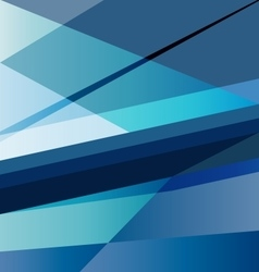 Dark blue abstract background design template vector