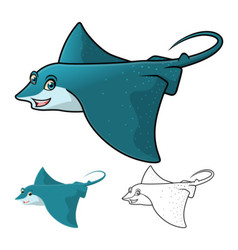 Eagle Ray vector