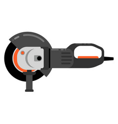 Electric sander icon flat electric sander vector