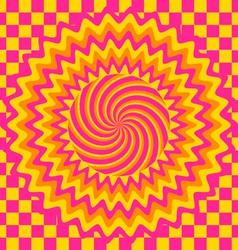 hypnotic vector image