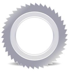 Sawblade icon vector
