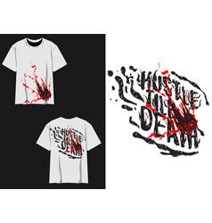 Streetwear design of scratches vector