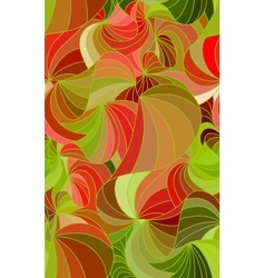 wave seamless background of doodle drawn vector image
