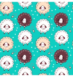 Sheep and bells vector image