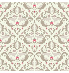 Classic seamless wallpaper vector image vector image