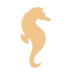 Sea horse vector image vector image