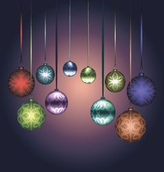 for christmas and new year vector image