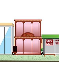 shop store vector image vector image
