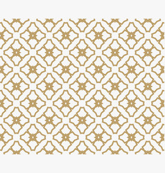 Abstract geometric decoration pattern with lines vector