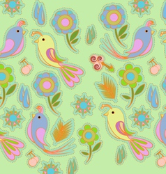 background bird vector image