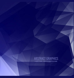 Blue background made with abstract shapes vector