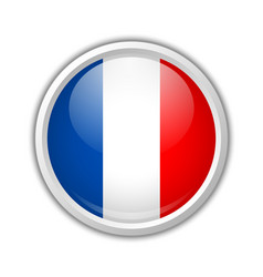 French icon vector image