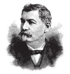 general george b mcclellan vintage vector image
