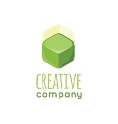 Creative Company Logo Design Flat vector image vector image