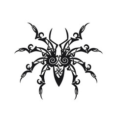 ornament spider vector image