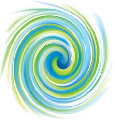 spiral liquid surface vector image