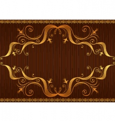 background brow vector image