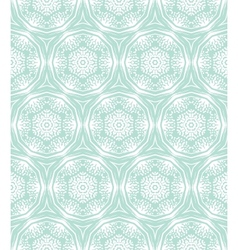 Ornamental elegant hand drawn pattern vector image vector image