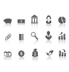 simple bank icon vector image vector image