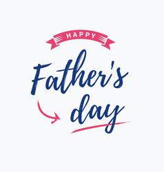 fathers-day-card vector image vector image