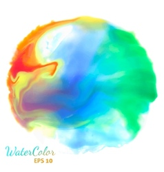 Watercolor background for textures vector image