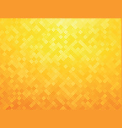 abstract yellow mosaic background vector image