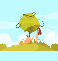 Adam and eve composition vector