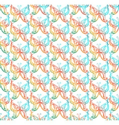 Butteflys pattern vector
