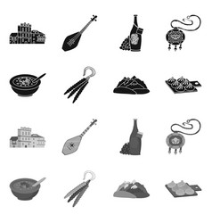 Design culture and sightseeing logo vector