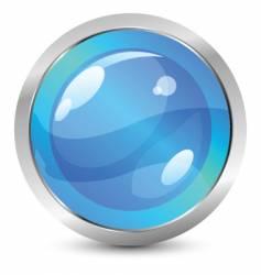 Glassy icon vector
