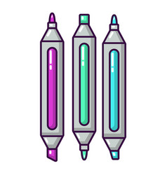 marker pen icon cartoon style vector image