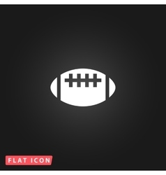 Rugflat icon vector