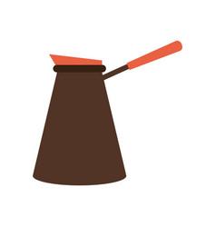 teapot kitchen utensil icon vector image