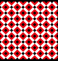 vintage cross lines tiles pattern or vector image