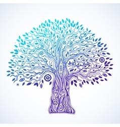 Unique ethnic tree of life vector image vector image