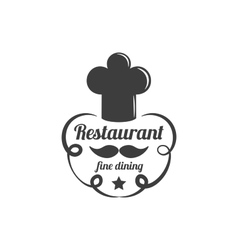 Restaurant Lable Food Service Logo vector image